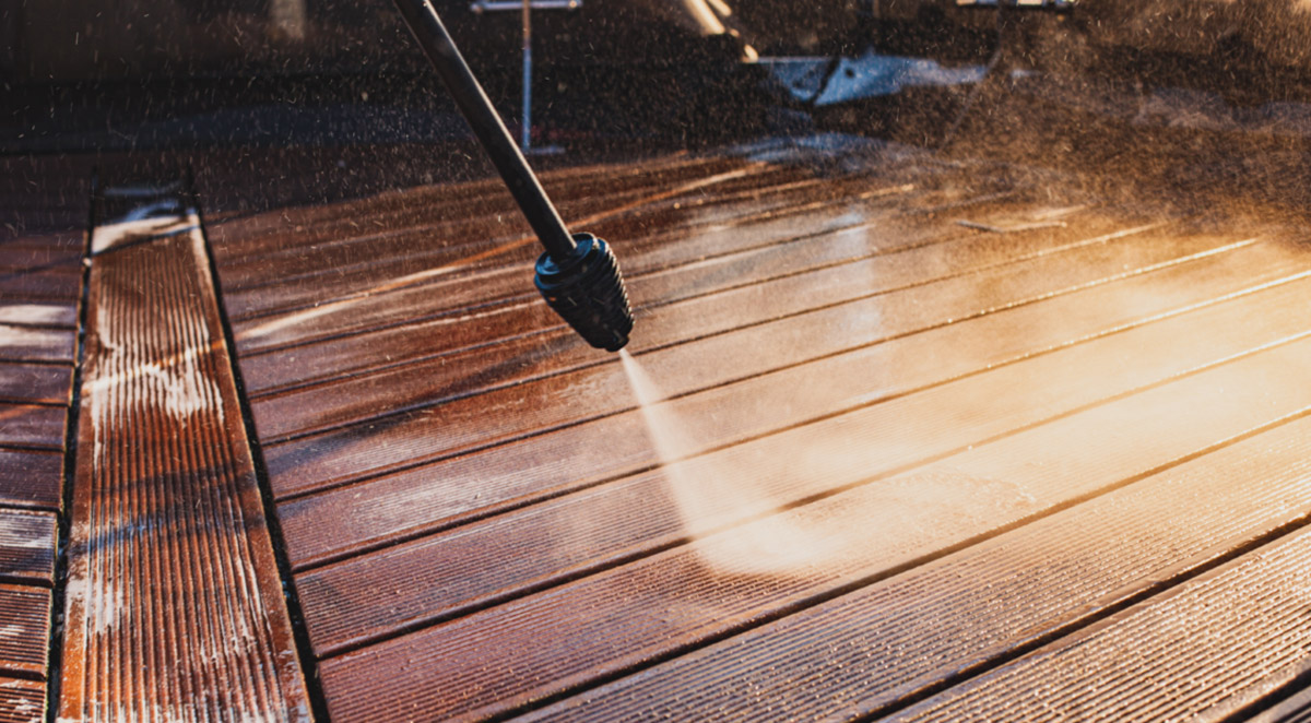 winter pressure washing