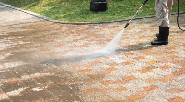 April Showers and May Flowers Bring Need for Pressure Washing